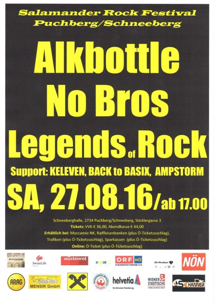 Plakat Salamander Rock Festival